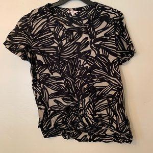 Gap printed blouse